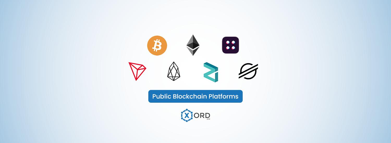 Public Blockhain Platforms Comparison