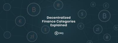 Decentralized Finance categories explained