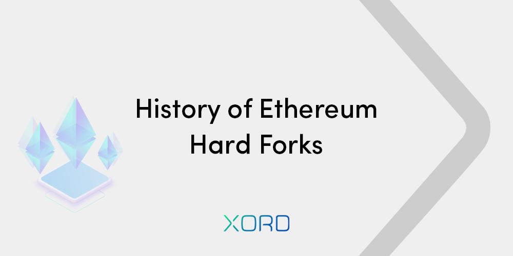 history of ethereum hardforks